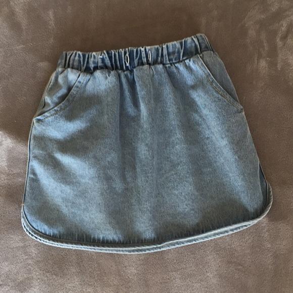 Skirts Cute Jean Skirt Poshmark